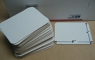 "whiteboards 6"" x 8"" set of (25) student individual Whiteboard/Markerboard"