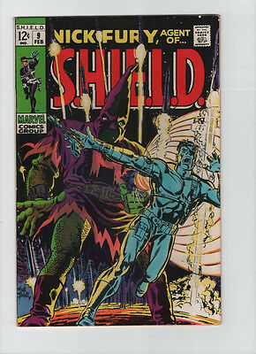 Nick Fury Agent Of SHIELD #9 - Hate Monger Cover - 1968 (Grade 6.5) WH