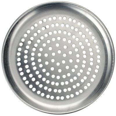 """Pizza pan 12"""" super perforated coupe American Metalcraft"""