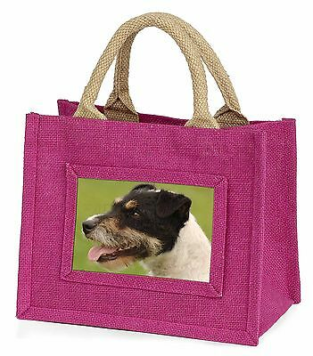 Jack Russell Terrier Dog Little Girls Small Pink Shopping Bag Christm, AD-JR2BMP