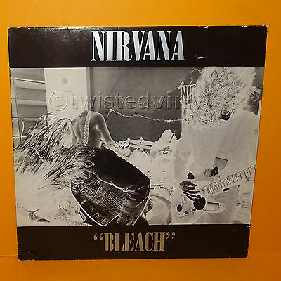 "1989 Tupelo Sub Pop Records Nirvana - ""bleach"" 12"" Lp Album Vinyl Record Rare Uk"