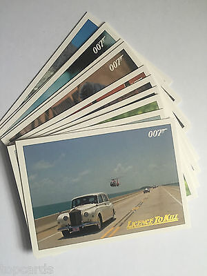 JAMES BOND 007 CLASSICS Licence To Kill GOLD Cards - Pick The Ones You Need