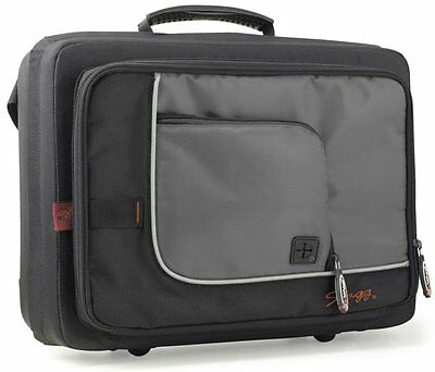 Stagg  SC-CL Clarinet Case Light Weight with Large Outer Pockets & BP Straps