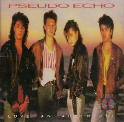 Pseudo Echo: Love An Adventure JAPAN Import MUSIC AUDIO CD 1987 RCA w/ Artwork!