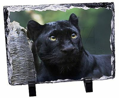 Black Panther Photo Slate Christmas Gift Ornament, AT-1SL