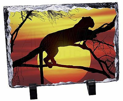 Leopard Photo Slate Christmas Gift Ornament, AT-31SL