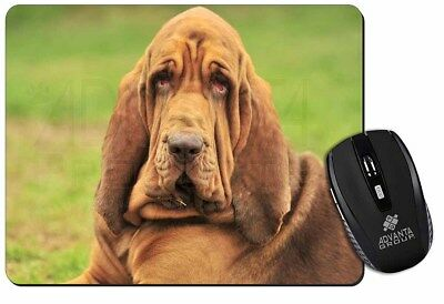 Blood Hound Dog Computer Mouse Mat Christmas Gift Idea, AD-BH7M