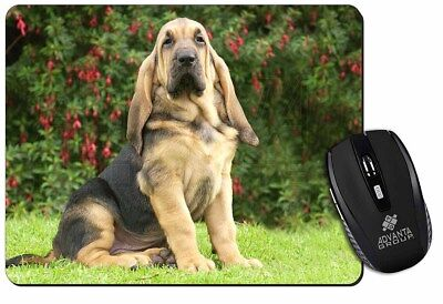 Bloodhound Dog Computer Mouse Mat Christmas Gift Idea, AD-BL1M