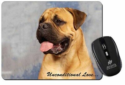 Bullmastiff Dog-With Love Computer Mouse Mat Christmas Gift Idea, AD-BMT1uM