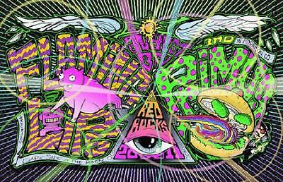 Flaming Lips Primus 2011 Red Rocks Concert Poster Serlo