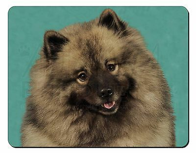 Keeshond Dog Computer Mouse Mat Christmas Gift Idea, AD-KEE1M