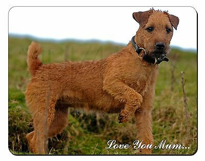 Lakeland Terrier 'Love You Mum' Computer Mouse Mat Christmas Gift Id, AD-LT1lymM
