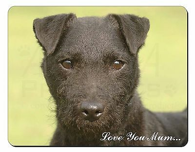 Patterdale Terrier 'Love You Mum' Computer Mouse Mat Christmas Gift , AD-PT2lymM