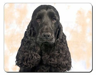 Black Cocker Spaniel Dog Computer Mouse Mat Christmas Gift Idea, AD-SC20M