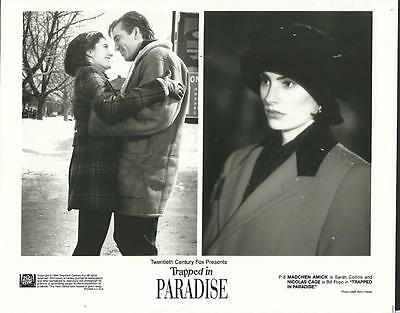 Nicolas Cage Mädchen Amick Trapped in Paradise 1994 original movie photo 19107