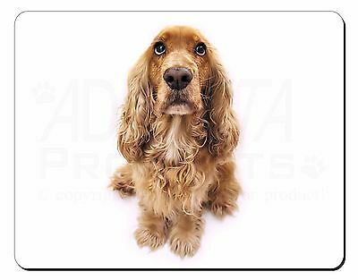 Cocker Spaniel Dog Computer Mouse Mat Christmas Gift Idea, AD-SC72M