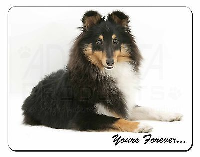 Shetland Sheepdog 'Yours Forever' Computer Mouse Mat Christmas Gift Id, AD-SE40M