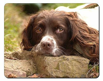 Springer Spaniel Dog Computer Mouse Mat Christmas Gift Idea, AD-SS1M