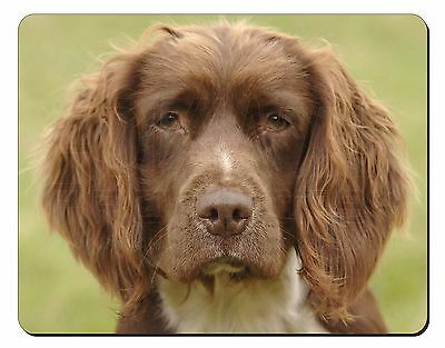 Liver Springer Spaniel Dog Computer Mouse Mat Christmas Gift Idea, AD-SS6M
