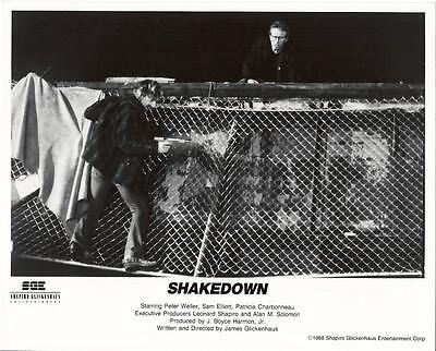 Peter Weller and Sam Elliott in Shakedown 1988 vintage movie photo 17422