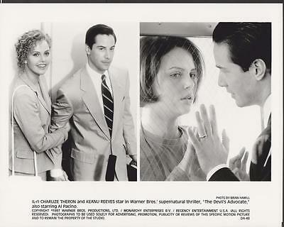 Charlize Theron Keanu Reeves The Devil's Advocate 1997 movie photo 24312