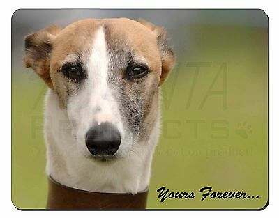 Whippet Dog 'Yours Forever' Computer Mouse Mat Christmas Gift Idea, AD-WH2yM
