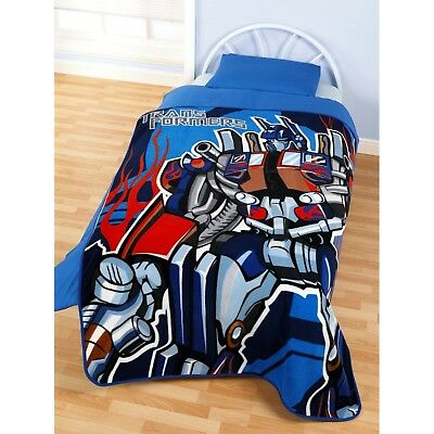 Childrens/Kids Transformers Fleece Blanket