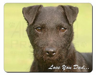 Patterdale Terrier 'Love You Dad' Computer Mouse Mat Christmas Gift Id, DAD-181M