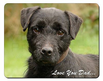 Fell Terrier 'Love You Dad'  Computer Mouse Mat Christmas Gift Idea, DAD-29M