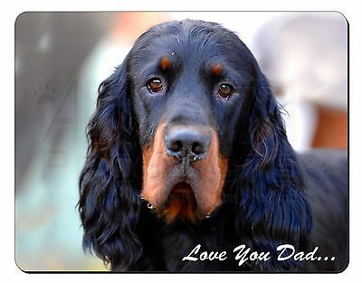 Gordon Setter 'Love You Dad' Computer Mouse Mat Christmas Gift Idea, DAD-38M