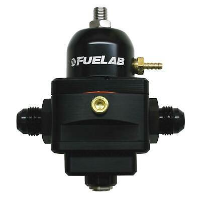 Fuelab Electronic Fuel Pressure Regulator -6 JIC Inlet/Return - Black - 52901-1