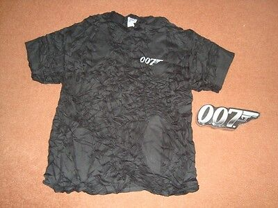 James Bond 007 Black T-Shirt
