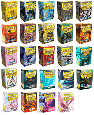 Dragonshield Arcane Tinmen Standard & Matte Sleeves 100 Hüllen Pokemon Magic