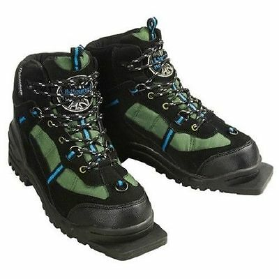 New Whitewoods 301 75mm 3 Pin XC ski boots kids size 37 junior Sz. cross country