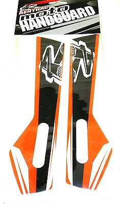 Renthal Replacement Graphics Decals Stickers Orange For Renthal Moto Handguards