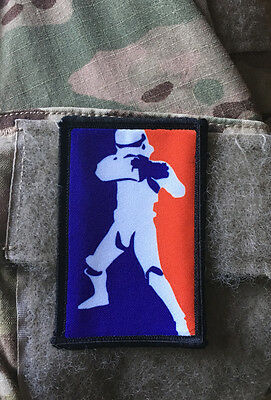 Star Wars Pro Stormtrooper Morale Patch Tactical Military Army Badge Hook Flag