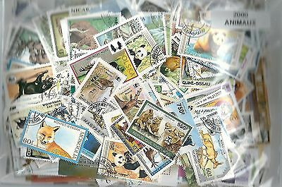 ANIMAUX 2000 timbres différents