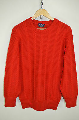 vtg 80s PAUL AND SHARK ORIGINAL CASUALS WOOL KNIT JUMPER SWEATER size LARGE