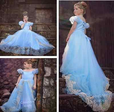 CARNEVALE COSTUME dress bambina Cinderella VESTITO BIMBA TRAVESTIMENTO new 868