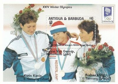 (87964) Antigua Barbuda MNH Olympic Games Lillehammer 1994