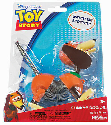 NEW Pull Along SLINKY DOG JR Junior Action Toy Story 3 - Poof Slinky - 3 years +