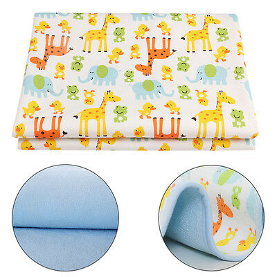 Soft Baby Changing Mats Cute Cartoon Waterproof Mat Easy Cleaning 50*70CM