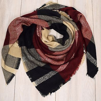 Pieces Tuch JALMOD LONG SCARF Schal Gelb-Rosa 17064564 Stola Polyester 200 cm