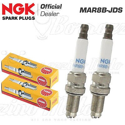 2 Candele Ngk Mar8B-Jds Bmw R 1200 Gs Adventure 2010 2011 2012 2013