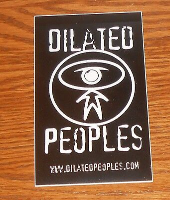 Dilated Peoples Sticker Decal Original Promo 3x5