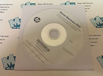 Driver Recovery DVD Kit 719919-B22 for HP Z230
