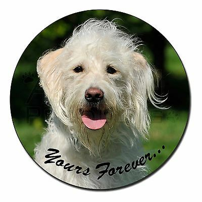 White Labradoodle 'Yours Forever' Fridge Magnet Stocking Filler Chris, AD-LD3yFM