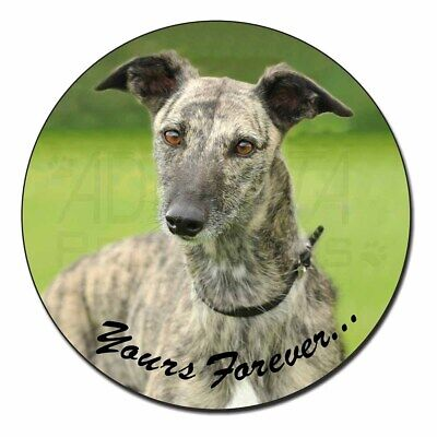 Greyhound Dog 'Yours Forever' Fridge Magnet Stocking Filler Christmas, AD-LU7yFM
