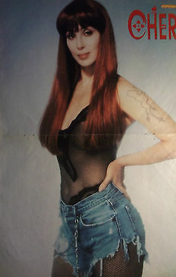 1 german poster CHER NOT SHIRTLESS GAY INT. SINGER BOYS BAND TEEN BRAVO BRAVO