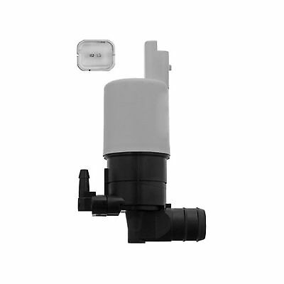 Peugeot Partner Tepee Variant2 Front /& Rear Twin Outlet Windscreen Washer Pump